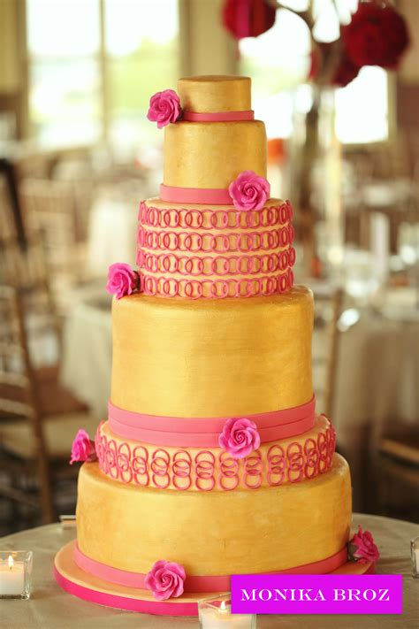 pink and gold cake www imgkid the image kid