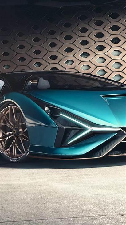 Lamborghini Sian Supercar Cars Electric Roadster Bike