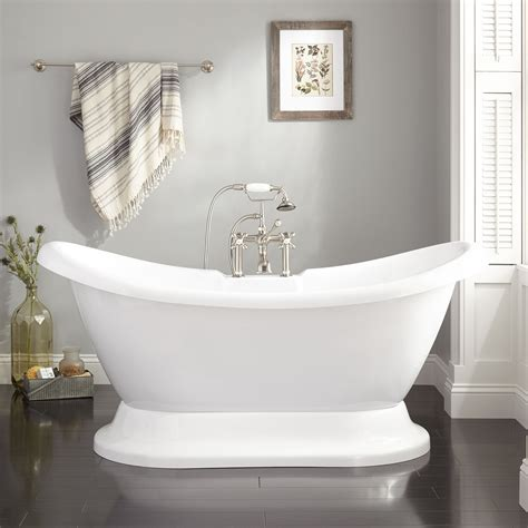 images of tubs rosalind acrylic pedestal tub freestanding tubs
