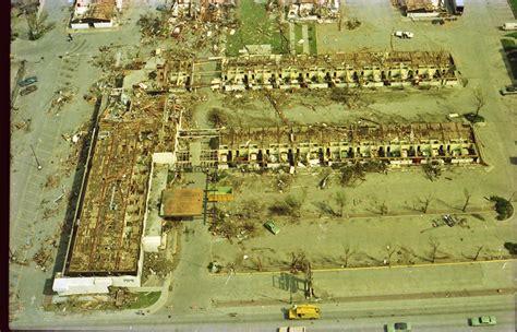 omaha tornado 1975 downtowner damage dodge weather north oax inn motor looking