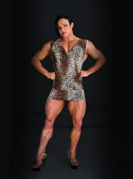 Are You Man Enough? UK's Biggest Female Bodybuilder Is