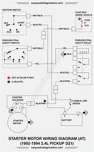 Motor Diagram Nissan 1994 Pickup