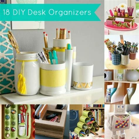 desk organizer ideas diy desk organizer 18 project ideas diy
