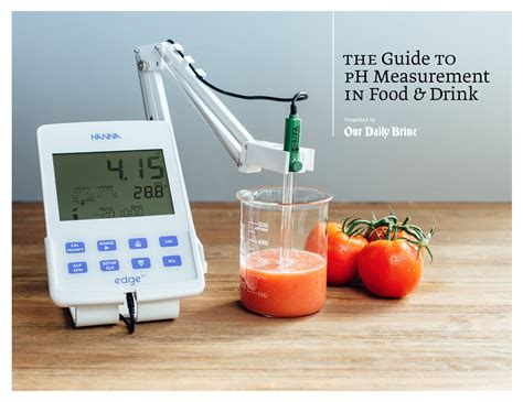 test cuisine a comprehensive guide to testing ph of food and drink