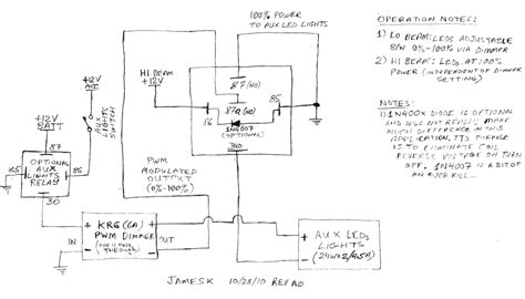 Harley Davidson Fog Light Wiring Diagram by Heated Grip Aux Light Factory Wiring Switched Fused