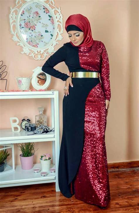 baju pesta elegan 12 model baju pesta muslim wanita terbaru