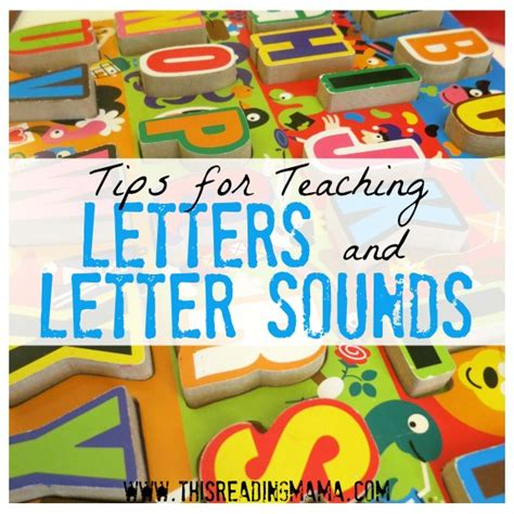 teaching letter sounds to preschoolers tips for teaching letters and letter sounds 845