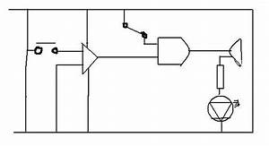 led would this button trigger alarm circuit work With how circuit work