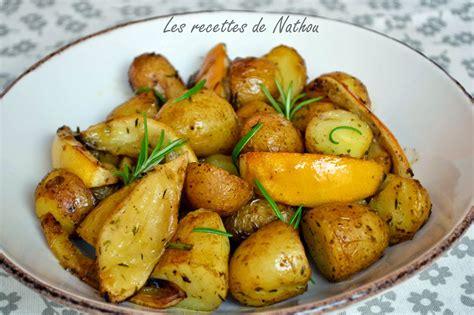 pommes de terre au four citron et romarin par ma cuisine