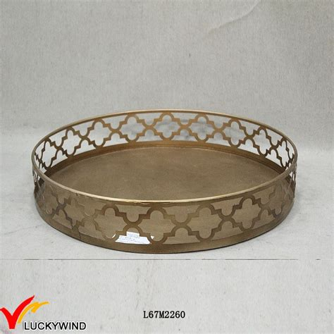 tier shabby chic antique metal serving trays wholesale buy metal serving trays