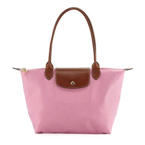 1b23a5d6cbf9c 959 x 960 www.tradesy.com. Longchamp Small Le Pliage  39  Bright Pink Nylon  Tote ...