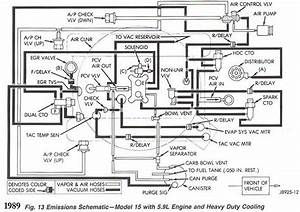 Can U0026 39 T Make Sense Of My Grand Wagoneer Vacuum Layout