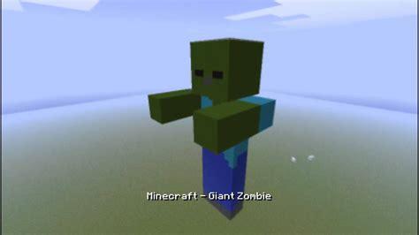 minecraft giant zombie   timelapse youtube