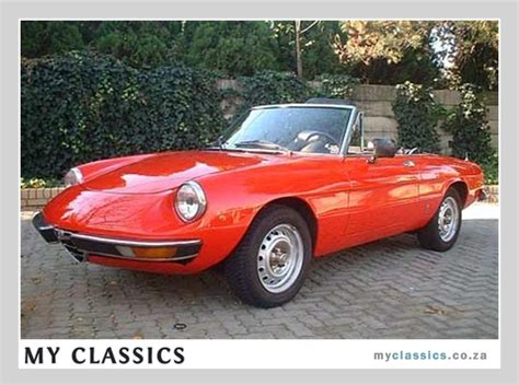 9 Best Images About Alfa Romeo Spider On Pinterest