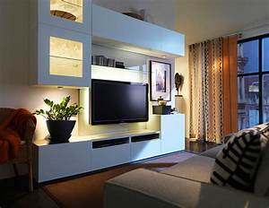 Tv Paneel Wand : wohnwand best mit led spots bild 4 sch ner wohnen ~ Sanjose-hotels-ca.com Haus und Dekorationen