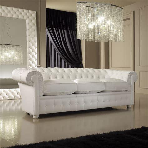 Leder Ecksofa Weiss by Luxury Italian Premium White Leather Sofa