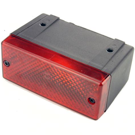 hella rear fog light hella compact rectangular rear fog 106mm car builder