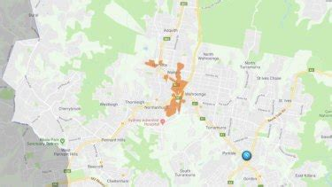thousands   power  sydneys upper north