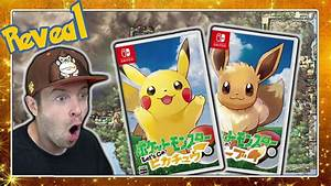 POKÉMON SWITCH ENTHÜLLT! Pokémon Let's Go Pikachu ...