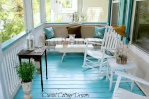 Coastal Cottage Dream Blog Front Porch Starfish Cottage Good Porch Flooring Ideas