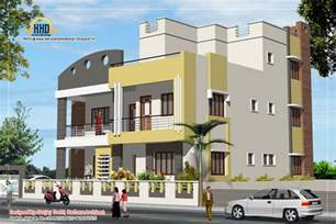3 Story Building 3 Story House Plan And Elevation 3521 Sq Ft Kerala Home Design And Floor Plans