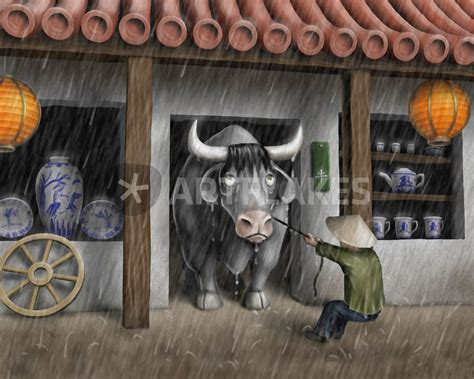 bull shop quot bull in a china shop quot drawing prints and posters by pawel somogyi artflakes