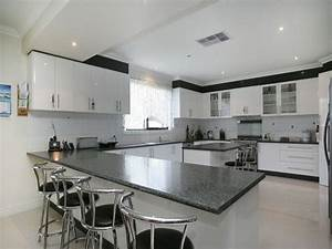 Modern Shaped Kitchen Design Granite Kitchen Photo 1599775 Easy L Shaped Kitchen Designs Ideas