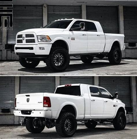 And White Dodge Truck Yeah Pinterest Dodge