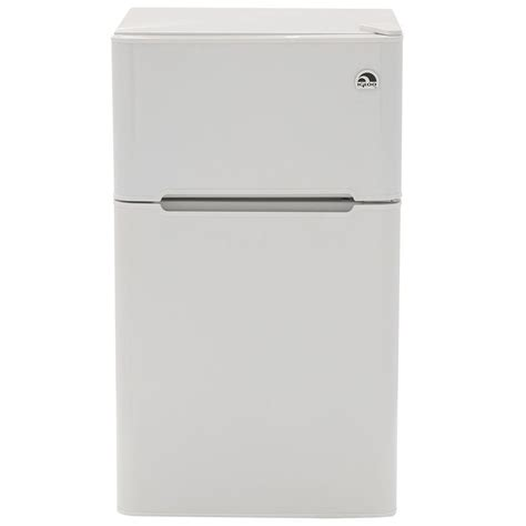 2 door mini fridge igloo 3 2 cu ft mini refrigerator in white 2 door