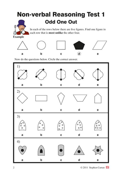 11 non verbal reasoning year 4 5 testbook 1 ae publications