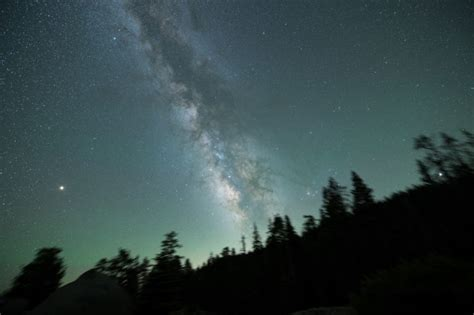 Capturing The Milky Way Over Yosemite National Park