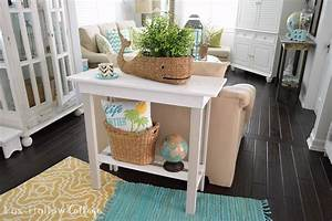 more summer decor and a diy paint makeover With homemade beach furniture