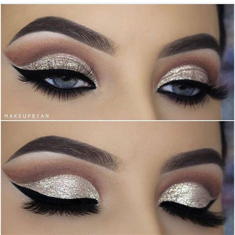 ideas  cut crease makeup  pinterest prom