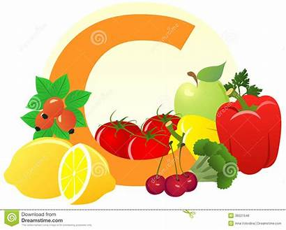 Vitamin Clipart Containing Foods Character Clip Cartoon