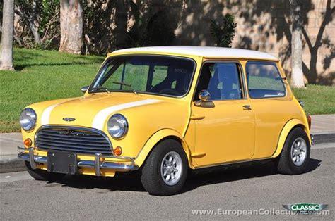classic 1963 mini cooper for sale classic sports car ref california