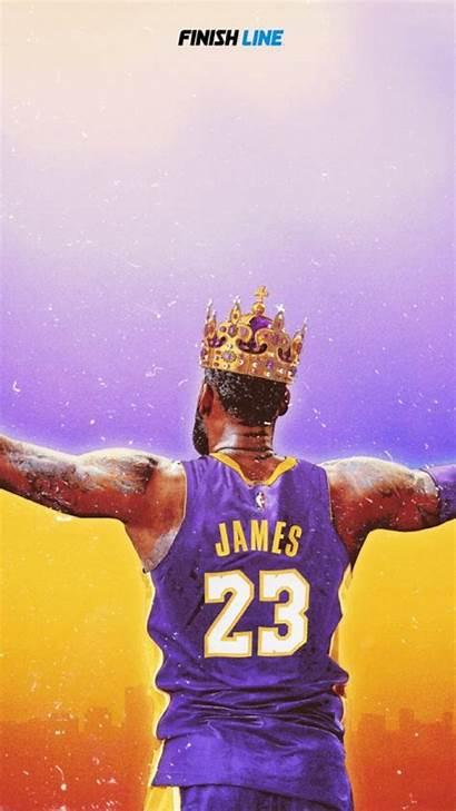 Lebron James Lakers Wallpapers Nba Basketball Crown