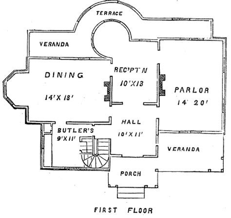 vintage butler pantry floor plans
