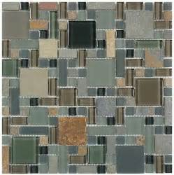 tile glass slate series forest floor gs27 homedecoraz com