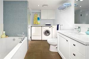Armadale project basement bathroom laundry room for Basement bathroom laundry room ideas