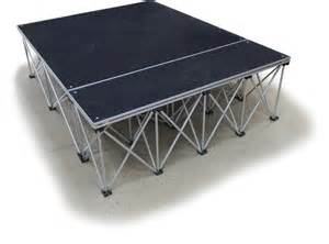 party tables and chairs for rent collapsible portable presentation platform carpeted deck