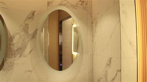 Etl Round Shape Led Heated Backlit Vanity Bathroom Mirror