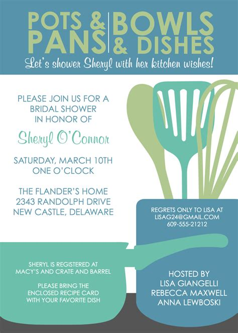 beautiful pampered chef invitation template