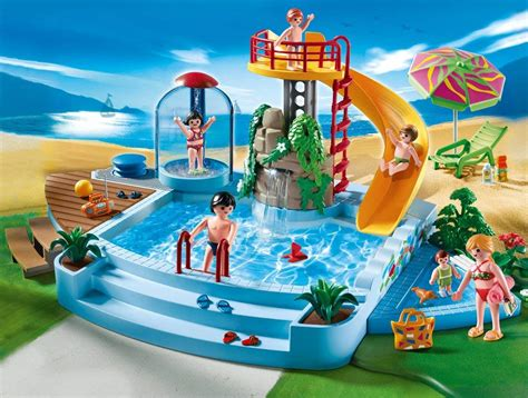 Swimming Pool With Water Slide Great Toy