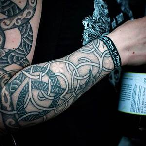 100 Norse Tattoos For Men - Medieval Norwegian Designs