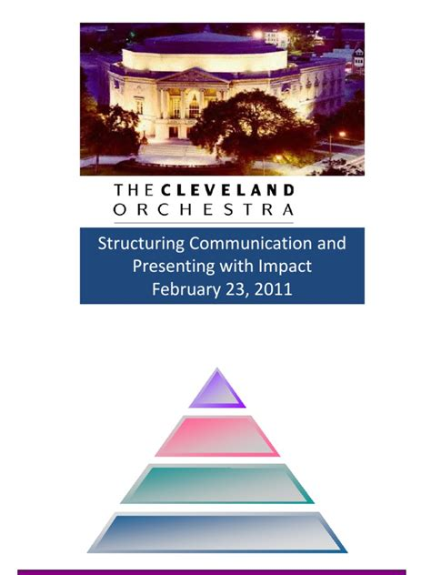pyramid principle cliff notes  logical consequence