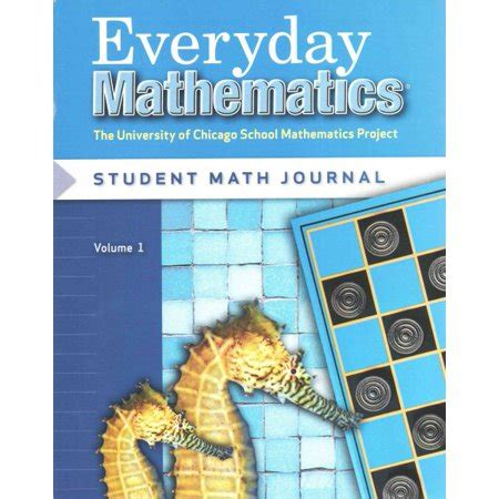 Everyday Mathematics, Grade 2, Student Math Journal 1 Walmartcom