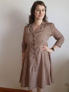 Vintage Shirt Dress - The Fold Line