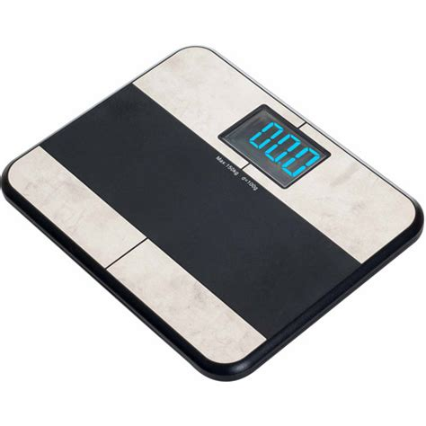 remedy bmi bathroom scale with apple iphone app walmart com