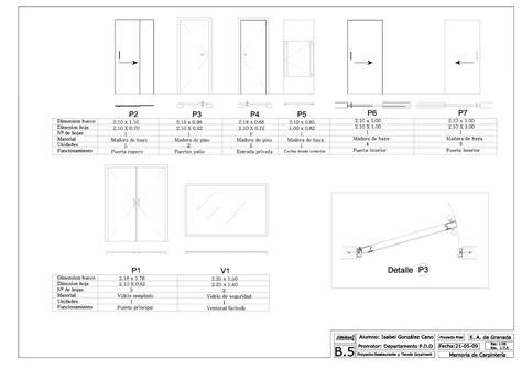 proyecto de interiorismo planos tecnicos memoria de