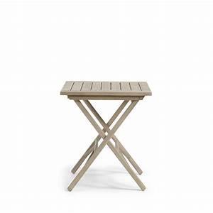 Table Jardin Bois Pliante : table pliante en bois 70x70 indoor outdoor rowing by drawer ~ Teatrodelosmanantiales.com Idées de Décoration